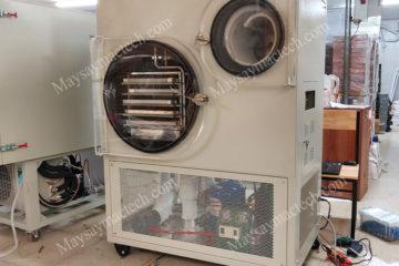 Máy sấy thăng hoa MST50 phù hợp sấy 5kg sản phẩm, sấy công nghiệp