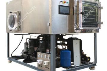 Máy sấy thăng hoa MST200 phù hợp cho sấy khô dưới 20kg sản phẩm