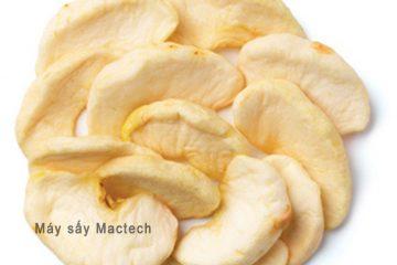 Táo sấy thăng hoa, công nghệ sấy mới giúp táo khô giữ nguyên hình dạng