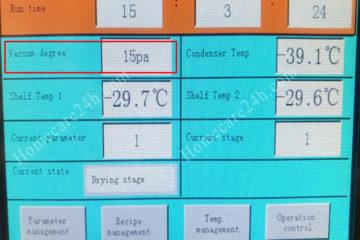 Tìm hiểu về áp suất chân không trong máy sấy thăng hoa