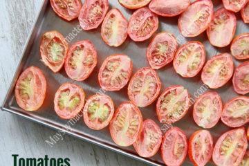 Sấy thăng hoa cà chua, giữ nguyên hình dạng và màu sắc tự nhiên
