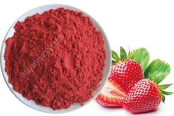 Cách làm bột dâu tây, phương pháp làm bột hoa quả chất lượng cao