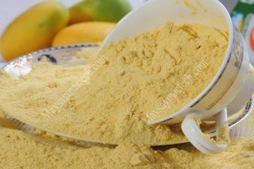 Cách làm bột hoa quả có chất lượng tốt nhất, màu sắc đẹp nhất