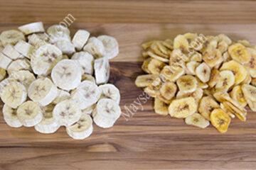 Cách sấy chuối khô giòn không bị co ngót, thơm, ngọt tự nhiên