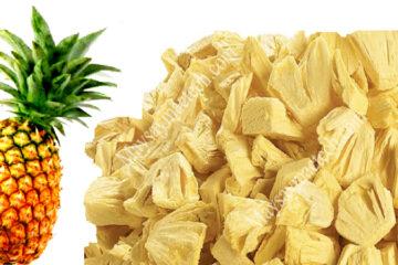Cách sấy dứa khô giòn mà không bị co ngót, không giảm độ ngọt