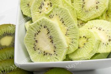 Kiwi sấy thăng hoa, hoa quả sấy cao cấp, nguyên hình dạng và màu sắc