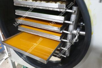 Máy sấy đông khô mini 5kg, 10kg phù hợp sấy hoa quả, thực phẩm, dược