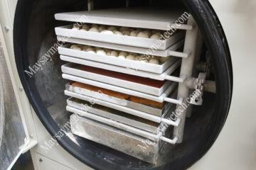 Quá trình sấy đông khô gồm giai đoạn nào, nhiệt độ và áp suất bao nhiêu