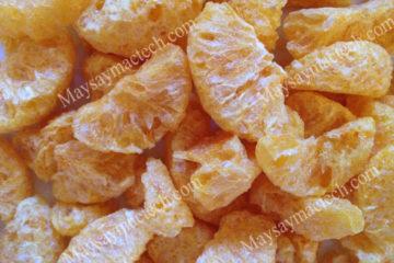 Múi cam sấy thăng hoa, sản phẩm đặc biệt trong hoa quả sấy khô