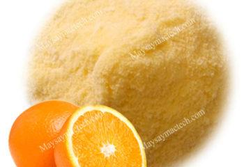 Cách làm bột cam chất lượng cao, bột mịn từ quả cam sấy khô giòn