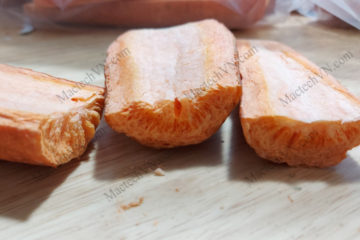 Đặc điểm rau củ sấy thăng hoa, kết cấu bên trong sản phẩm